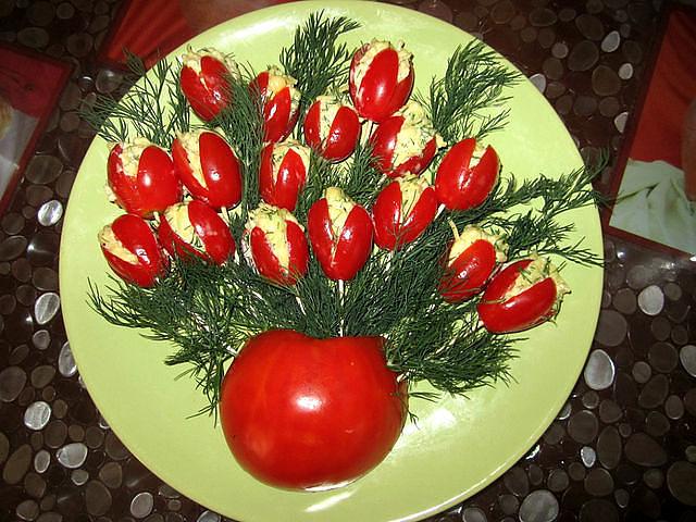 Фото красиво оформленное блюдо