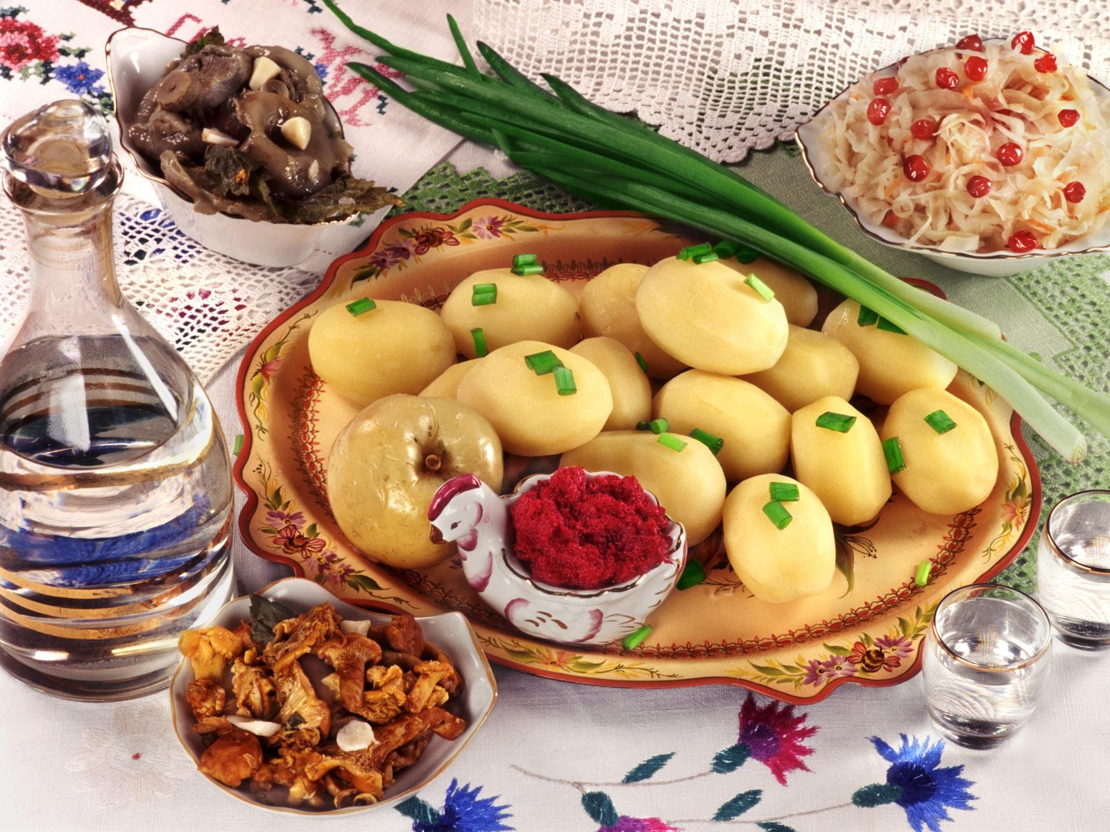 Национальные русские блюда в картинках